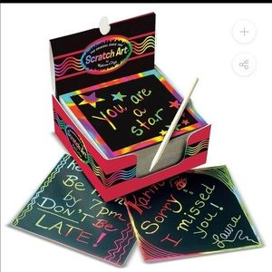 MELISSA & DOUG | SCRATCH ART® BOX OF RAINBOW